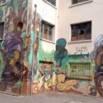 graffiti art on side of building