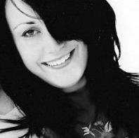 black and white photo of Miranda