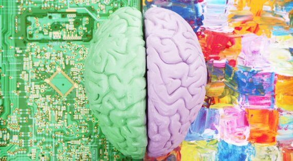 Creative side of the human brain