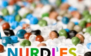 Nurdles (Small plastic pellets about the size of a lentil)