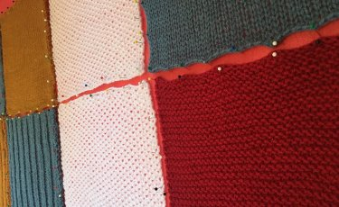 Knitting squares