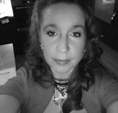Staff member Annabel Cook