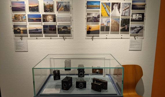 Winning entries to the challenge on display in Littlehampton Museum